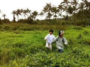 twins in farm
