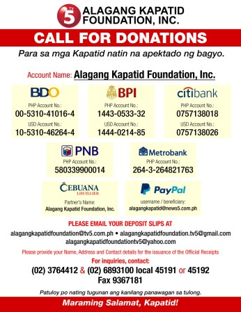 call-for-donation-bank-accounts