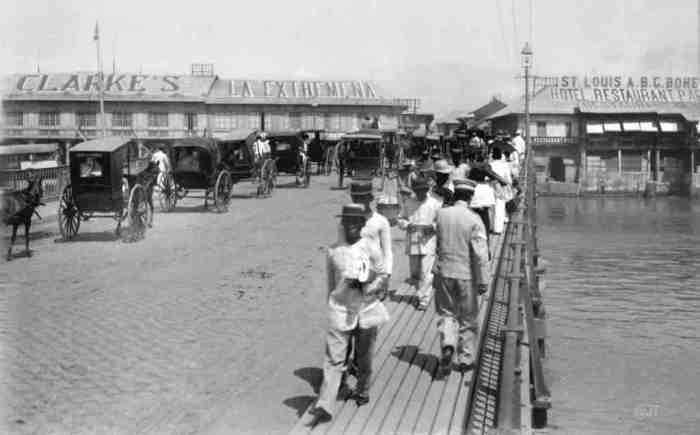 Bridge-of-Spain-now known as Jones-Clarkes-1890-lou gopal
